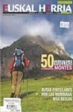 especial euskal herria nº 5 diciembre 2007 50 vueltas a 50 montes rutas circulares por las montañas mas bellas-9788482162768