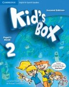 kid s box 2 for spanish speakers pupil s book with my home booklet 2nd edition-9788483239568