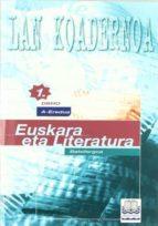 euskara eta literatura a-eredua 1ºdbho (lan koadernoa)-9788483251768