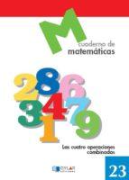 cuaderno de matematicas, n. 23 9788489655768
