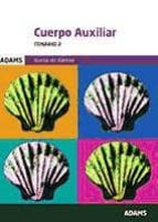 auxiliares administrativos de la xunta de galicia. temario 2-9788490843468