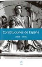 El libro de Constituciones de españa (1808-1978) autor VV.AA. EPUB!