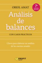análisis de balances (ebook)-oriol amat-9788492956968