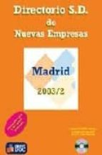 Epub ebooks descargas torrent Directorio sd de nuevas empresas. madrid 2003/2