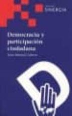 democracia y participacion ciudadana juan manuel cabrera 9788496611368