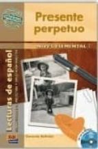 presente perpetuo: nivel elemental (incluye cd)-gerardo beltran-9788498480368