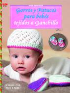 gorros y patucos para bebés tejidos a ganchillo-anja tissen-9788498743968