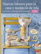 nuevas labores para la casa y muñecos de tela-tone finnanger-9788498746068