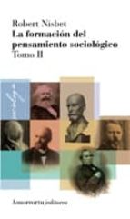 la formacion del pensamiento sociologico (vol.2) robert nisbet 9789505182268