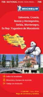 mapa eslovenia, croacia, bosnia, herzegovina 2012-9782067171978