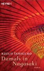 damals in nagasaki kazuo ishiguro 9783453421578