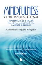 mindfulness y equilibrio emocional-margaret cullen-9788416579778