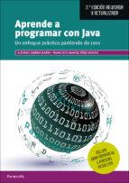 aprende a programar con java (2ª ed. revisada y actualizada) alfonso jimenez marin francisco manuel perez montes 9788428338578