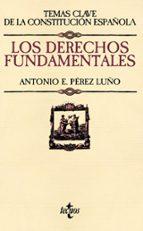 los derechos fundamentales-antonio e. perez luño-9788430958078