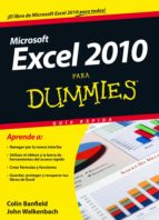 (pe) excel 2010 para dummies-colin banfield-9788432921278
