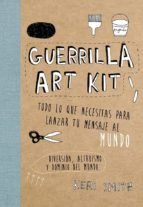 guerrilla art kit-keri smith-9788449329678