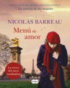 menú de amor-nicolas barreau-9788491292678