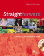 straightforward intermediate: student s book pack cd-rom-philip kerr-ceri jones-9780230020788