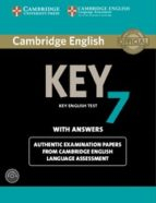 cambridge english key 7 student s book pack (student s book with answers and audio cd)-9781107691988