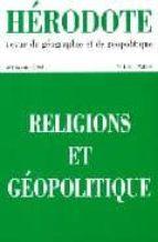 H106.religions et geopolitique Descargar nuevos libros gratis en línea