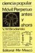 movil perpetuo antes y ahora v.m. brodianski 9785030016788