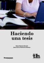 haciendo una tesis-emilio beltran sanchez-9788415442288