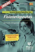 fisioterapeutas: temario materia específica. volumen 1 servicio aragonés de salud-9788416506088