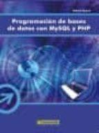 programacion de bases de datos con mysql y php helma spona 9788426714688