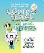 código penal. versión martina-vicente valera-9788430976188