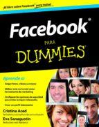 facebook para dummies cristina aced eva sanagustin 9788432900488