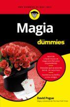 magia para dummies david pogue 9788432904288