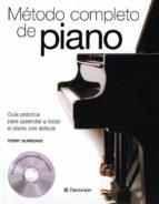 metodo completo de piano; guia practica para aprender a tocar el piano con soltura (+ cd)-terry burrows-9788434226388