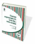 finanzas empresariales (i): renta fija y renta variable-josé garcía núñez-9788445434888