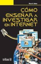 como enseñar a investigar en internet-9788466549288