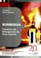 BOMBERO/A DEL CONSORCIO DE EMERGENCIAS DE GRAN CANARIA. TEMARIO P ARTE GENERAL