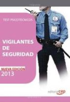 vigilantes de seguridad. test psicotecnicos-9788468140988