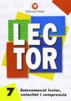 entrenament lector, velocitat i comprensió nº 7 lletra manuscrita c.i. m. 9788486545888