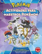 actividades para maestros pokemon (pokemon) 9788490437988