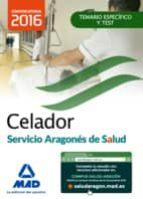 celador del servicio aragones de salud(salud aragon). temario materia especifica y test 9788490937488