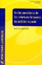 vision panoramica de las relaciones laborales de caracter especia l maria teresa igartua miro 9788495863188