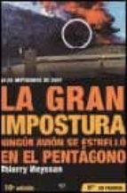 la gran impostura: ningun avion se estrello en el pentagono-thierry meyssan-9788497340588