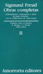 obras completas (vol. ii): estudios sobre la histeria (j. breuer y s. freud) (1893-1895)-sigmund freud-9789505185788