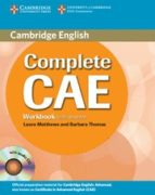 complete cae workbook with answers with audio cd simon haines 9780521698498