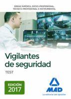 vigilantes de seguridad. test-9788414212998