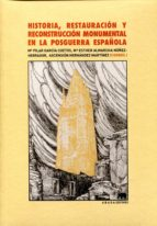 historia, restauracion y reconstruccion monumental en posguerra e spañola 9788415289098