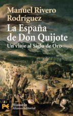 la españa de don quijote manuel rivero rodriguez 9788420658698