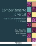 comportamiento no verbal-rafael m. lopez perez-fernando gordillo leon-9788436835298