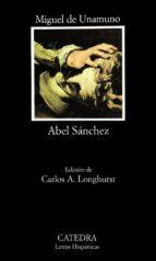 abel sanchez-miguel de unamuno-9788437613598