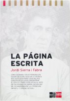 la página escrita. manual de escritura (ebook-epub) (ebook)-jordi sierra i fabra-9788467544398