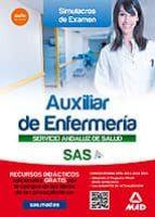 AUXILIAR ENFERMERIA DEL SERVICIO ANDALUZ DE SALUD. SIMULACROS DE EXAMEN
